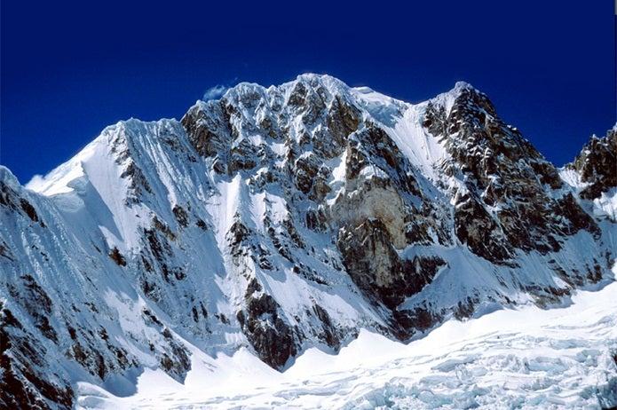 ペルーのアンデス山脈