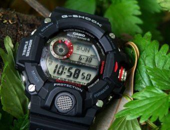 G-SHOCKの電波ソーラー時計