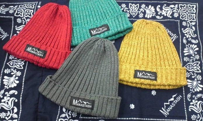 マナスタッシュのニット帽