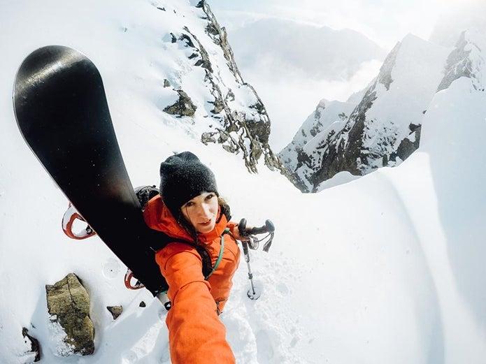山で撮影したゴープロ写真