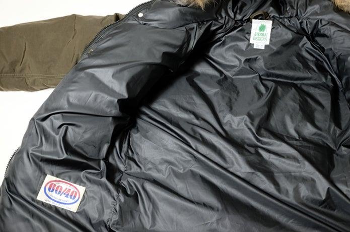 シエラデザインのロクヨン素材を使ったウェア