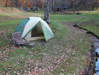 ノースイーグルのテントと椅子