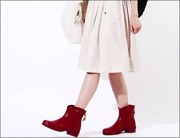 エーグルの赤い長靴