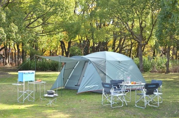 キャンパーズコレクションのテントとチェア