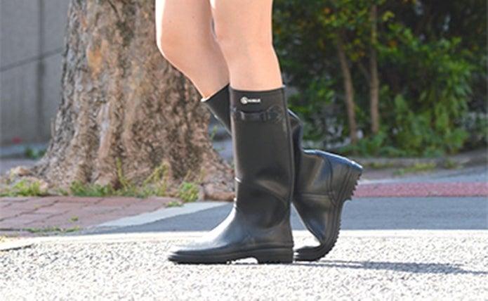 エーグルの黒い長靴