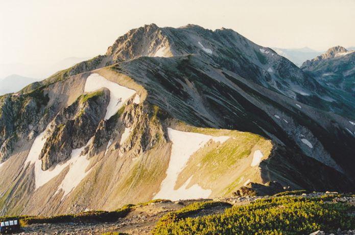 春を背負ってが撮影された山