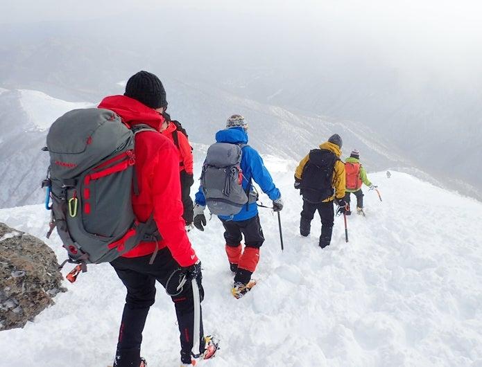 バックパックの選び方-雪山用