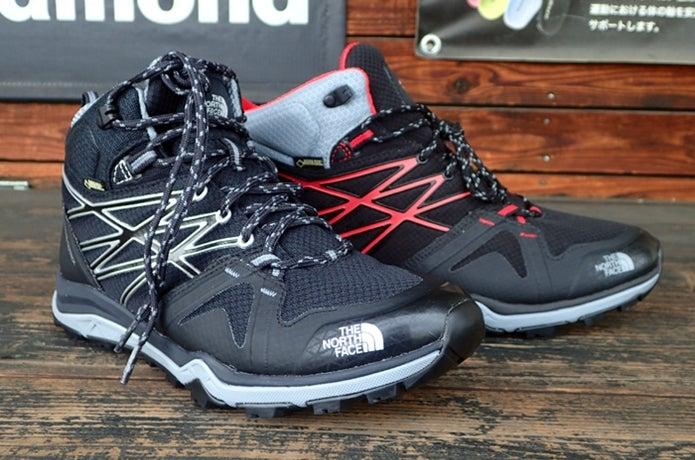 ノースフェイスの登山靴