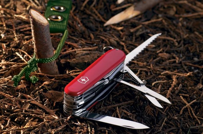 万能ナイフの使用画像