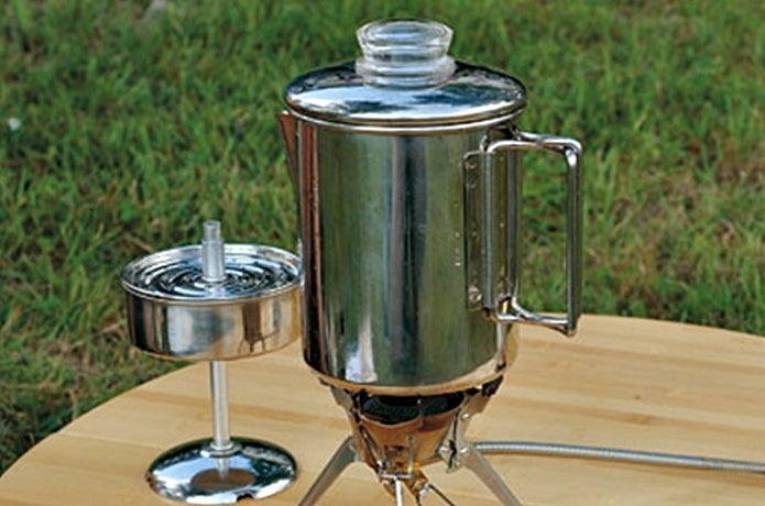 キャンプでコーヒーを淹れるための道具