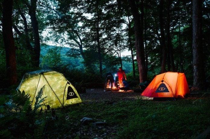 ポーラーのテント