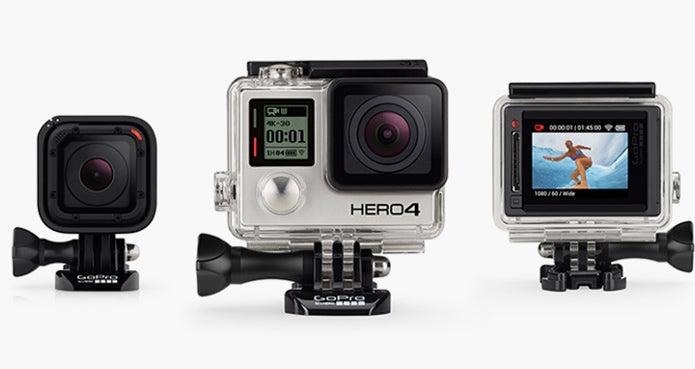 様々なゴープロカメラ