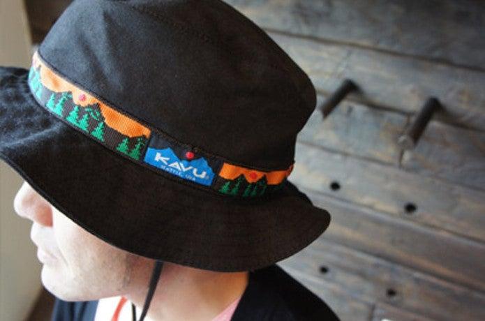 カブーのアウトドア帽子