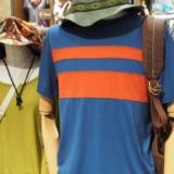 アイベックスのメリノウールTシャツ