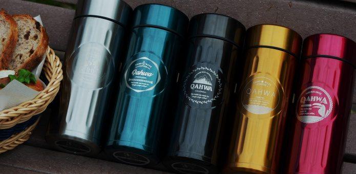 コーヒー用のステンレスボトル