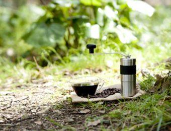 コーヒーミルのおすすめを外で使う