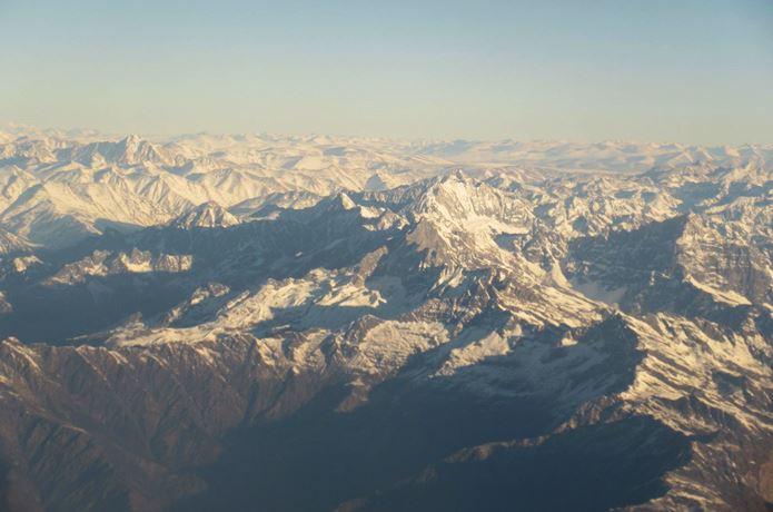セブンイヤーズインチベットの舞台であるヒマラヤ山脈