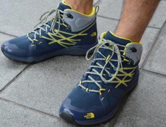 登山靴のおすすめの1つであるノースフェイスの靴