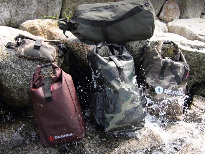 デグナーの防水リュック