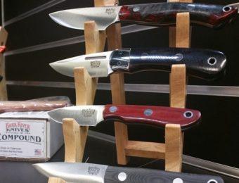 バークリバーのナイフたち