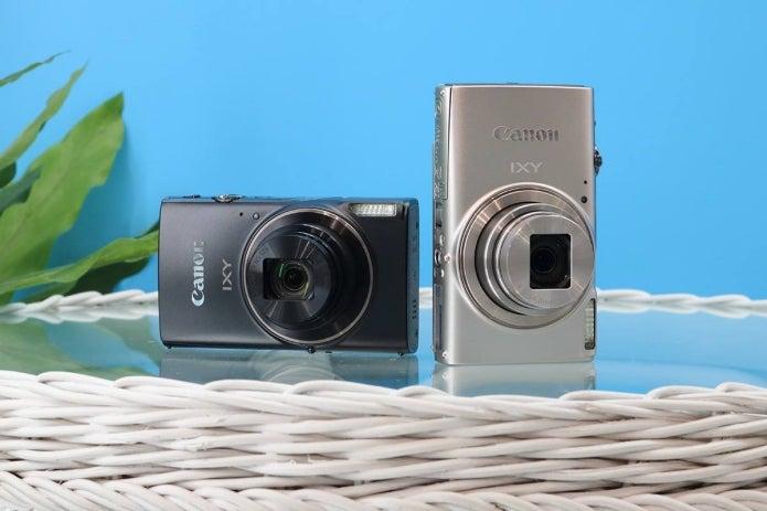 canonのデジタルカメラIXYが人気