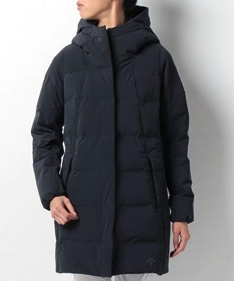 水沢ダウンのレディース用ロングコート