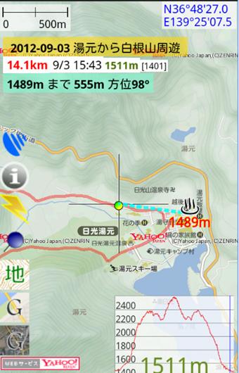 地図ロイドの登山地図アプリ