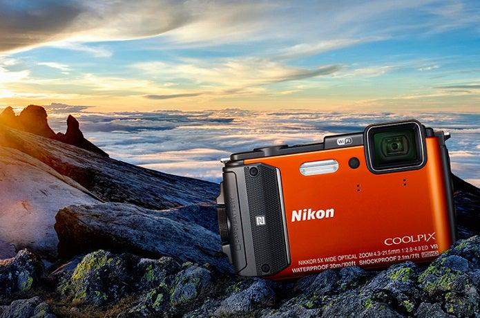 ニコンの防水カメラ