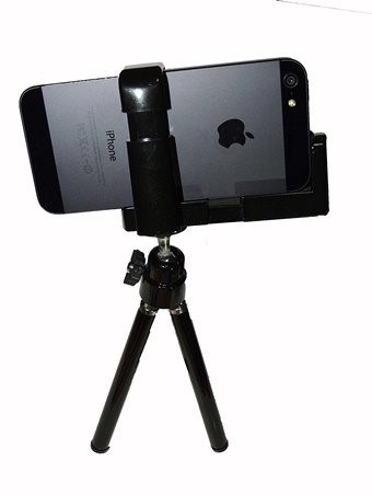 iphone用の三脚