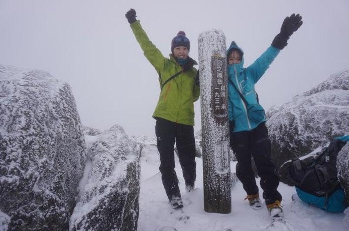 山登り服装冬女子編
