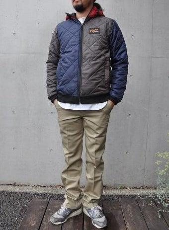ROKXのジャケット男性着こなし例