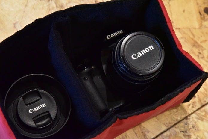 カメラを入れるインナーケース