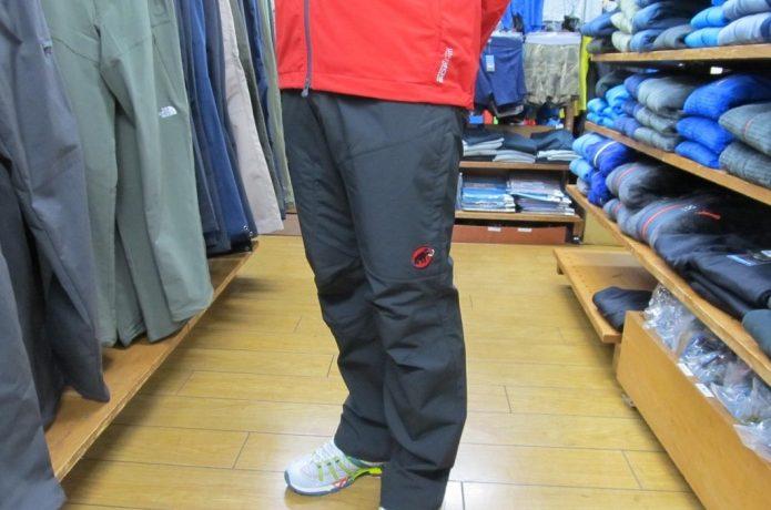 山登りの服装パンツ編