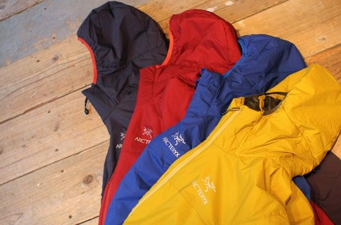 プリマロフトのジャケット
