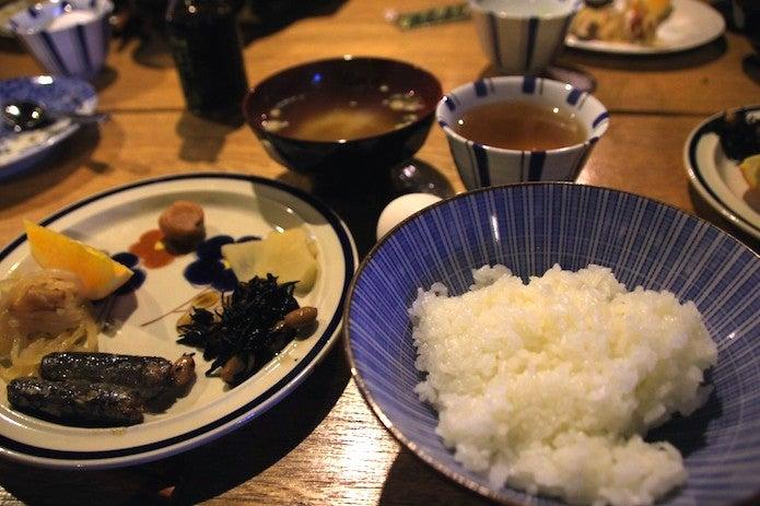 黒百合ヒュッテの朝食