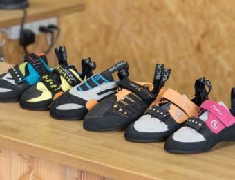 ボルダリングの色んな靴