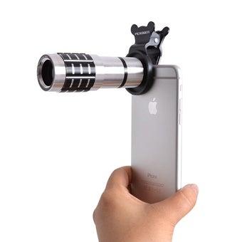 iphone用の望遠レンズ