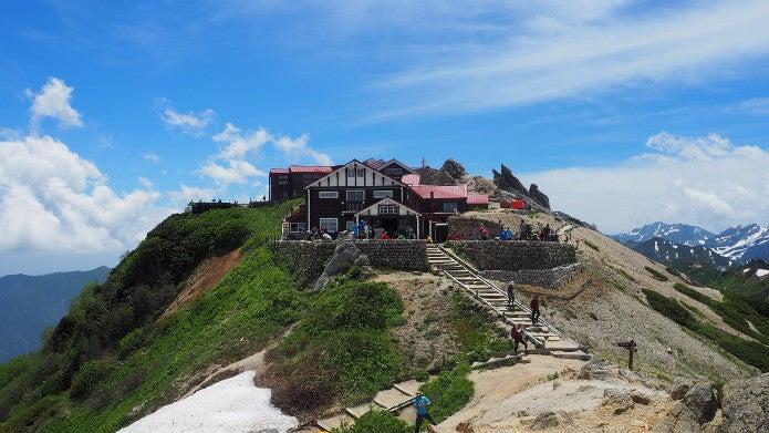 燕山荘は歴史ある山小屋