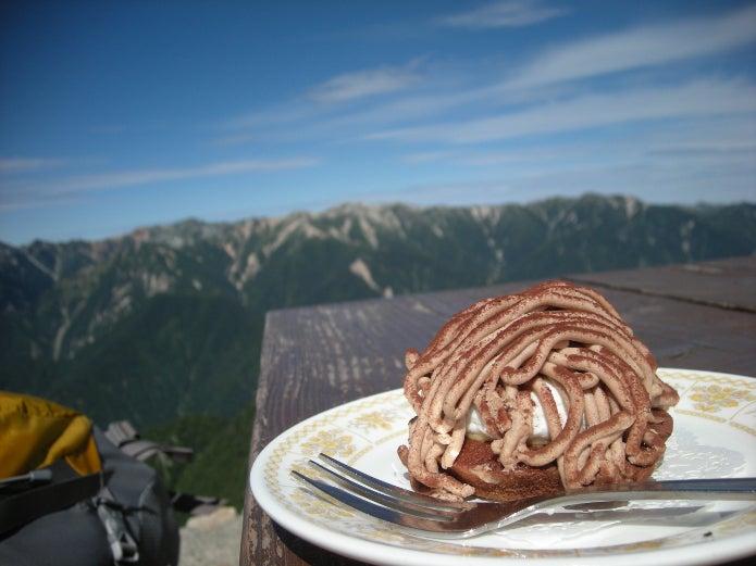 燕山荘のケーキが有名