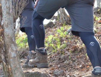 シースリーフィットを履いた登山者