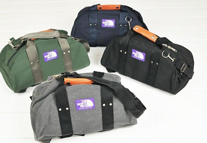 パープルレーベルのバッグ