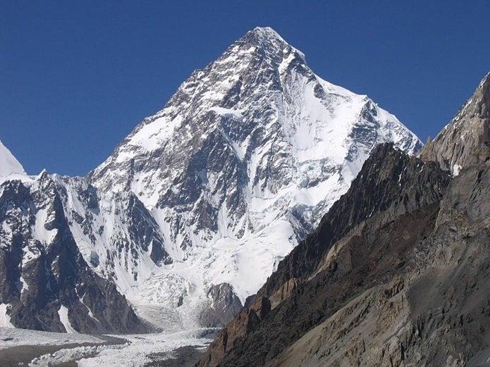 孤高の人の舞台K2