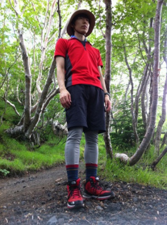 山登りの服装コーデ2