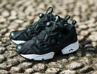 ポンプフューリーの黒い靴