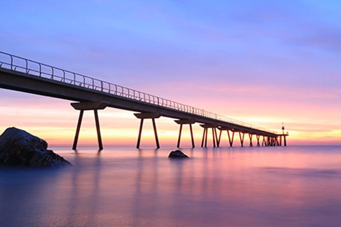 コンパクトデジカメのおすすめ製品で撮った夕日の写真