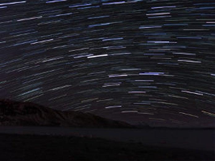 コンパクトデジカメのおすすめ製品で撮った流れ星の写真