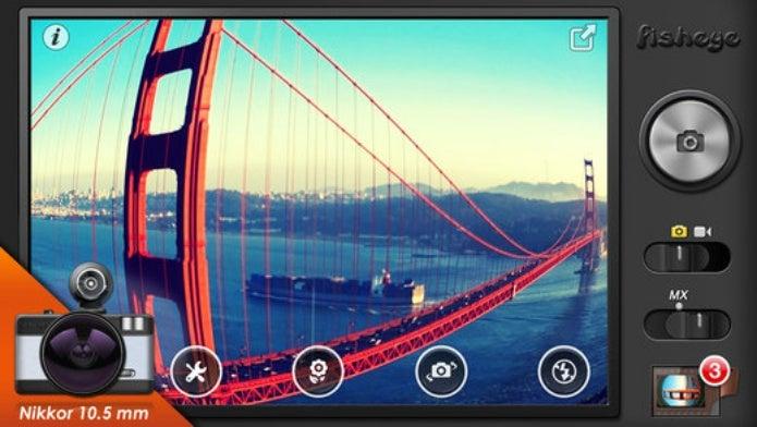 魚眼レンズアプリをiphoneでダウンロードする