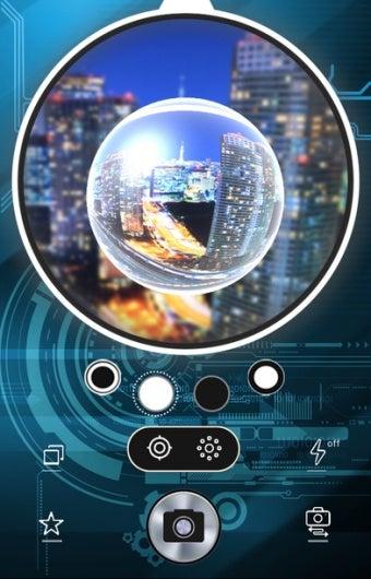 魚眼レンズアプリがiphoneで使える