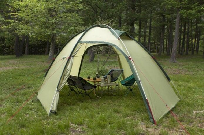 テンマクデザインのかわいいテント