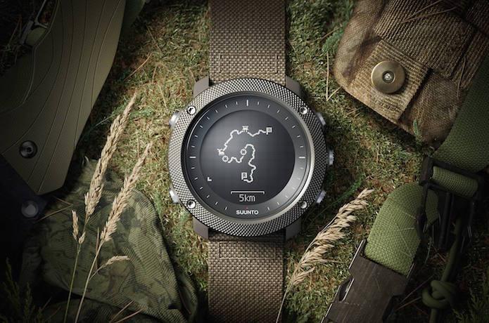 スントのGPS腕時計